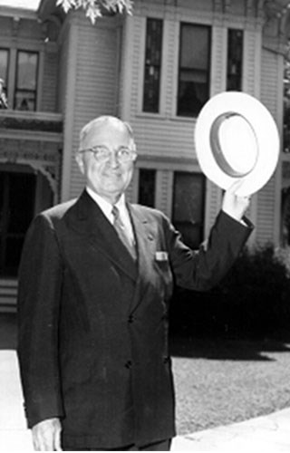 President Truman Welcomes you to Independence!