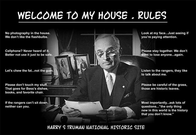 What we can do to help preserve the Truman Home