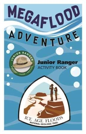 cover page for Ice Age Floods National Geologic Trail Junior Ranger booklet