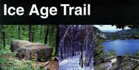 The Ice Age National Scenic Trail brochure.