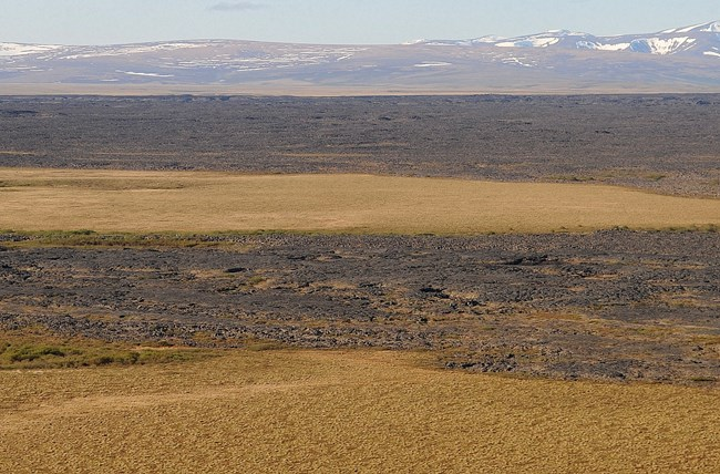 Lost Jim Lava Fields in Bering Land Bridge National Preserve.