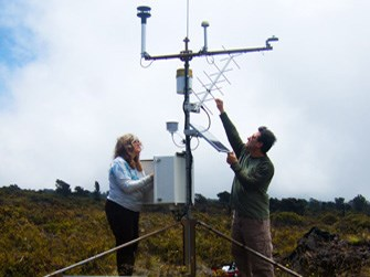 Climate stations are located throughout PACN parks