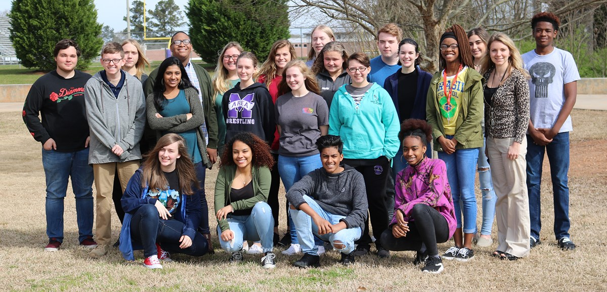Ms. Haley Nagle's AP Environmental Science class.