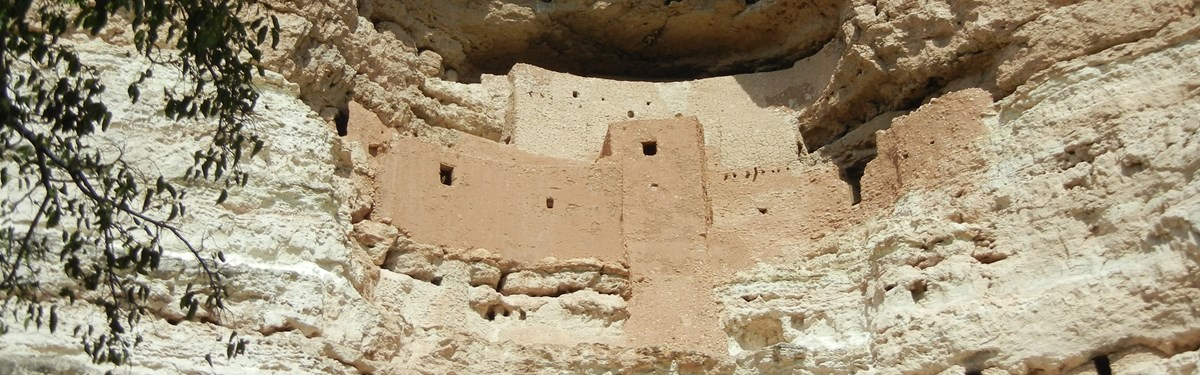 Cliff dwellings, Montezuma Castle National Monument