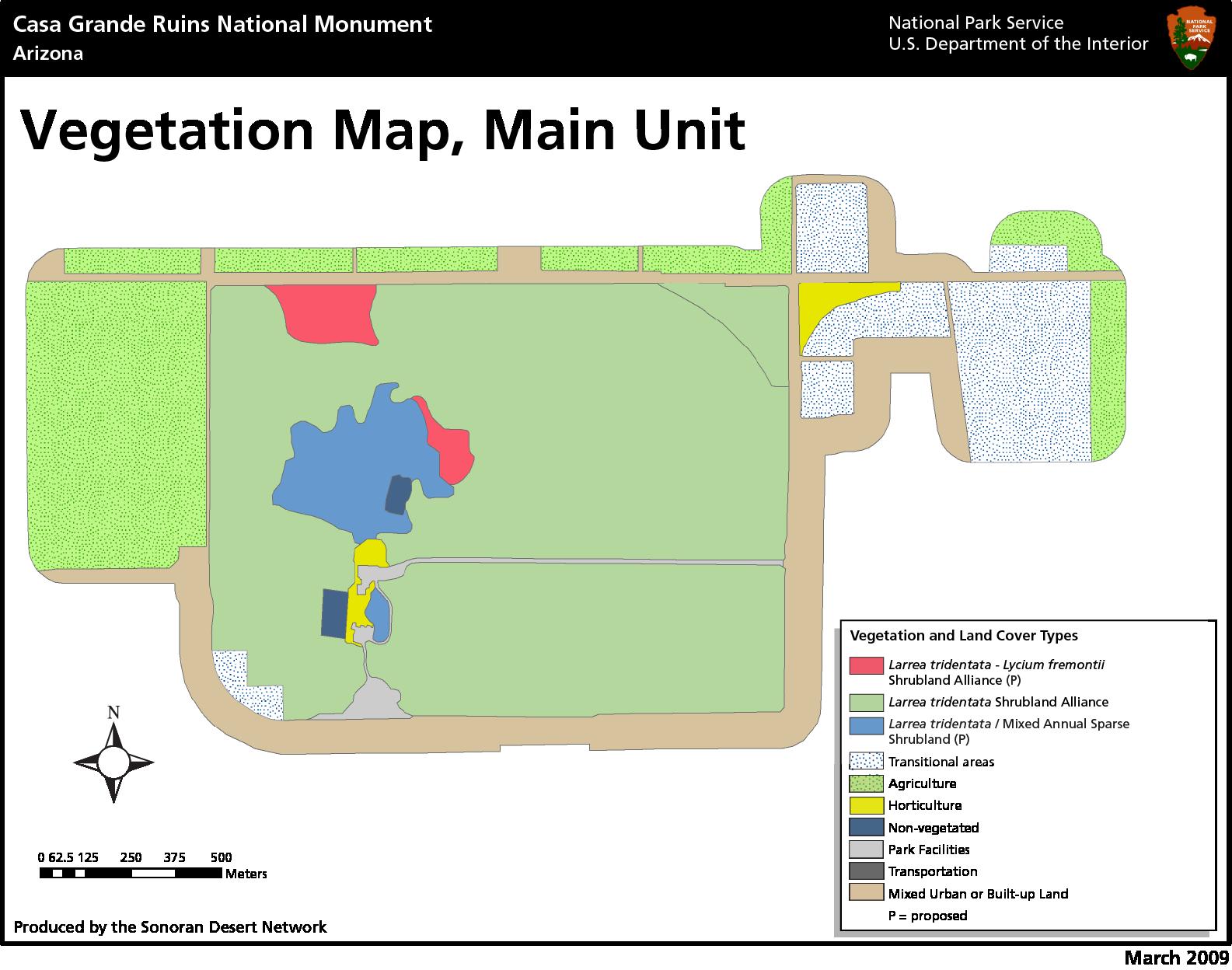Status and Trends of Vegetation and Soils at Casa Grande Ruins