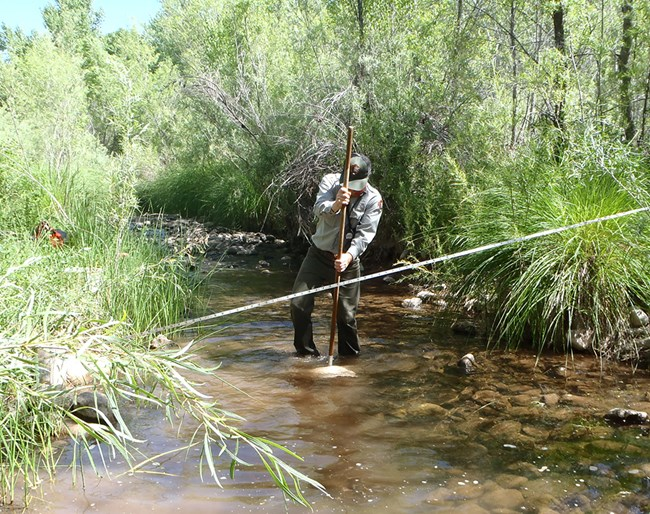 Streams monitoring on the Verde River