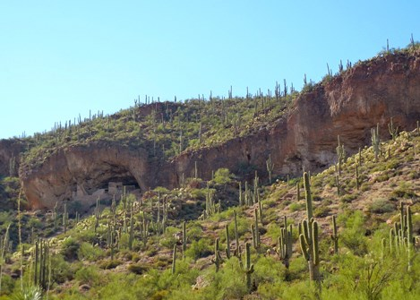Lower Cliff Dwellings, Tonto National Monument