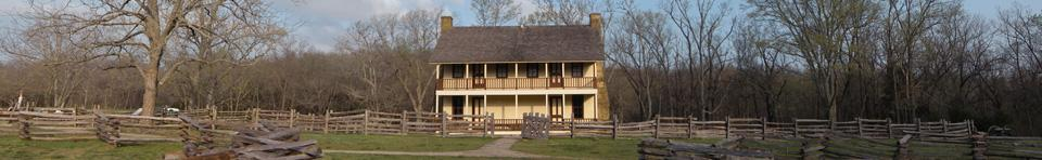 Elkhorn Tavern, Federal Provost Marshal Headquarters and Field Hospital Used by Both Armies