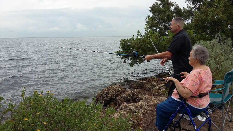 Fishing at Convoy Point and Accessibility