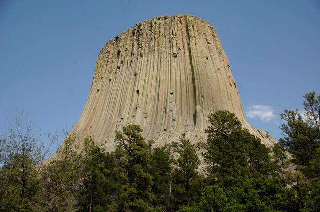 Devils Tower is an intrusive igneous formation