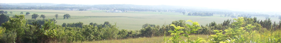 View of Southern Wisconsin from the Ice Age NST