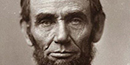 A picture of Abraham Lincoln's face