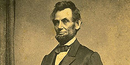 A picture of President Abraham Lincoln