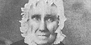 Picture of Sarah Bush Johnston Lincoln, stepmother of our sixteenth president Abraham Lincoln