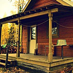 Public use cabins are a welcomed respite along the Yukon River