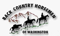 Back Country Horsemen of Washington logo