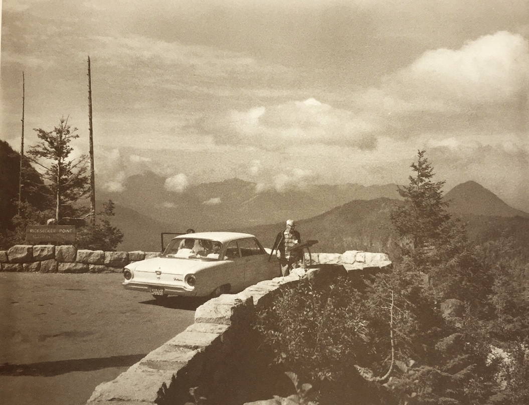 Mount Rainier National Park, 1960. NPS Photo