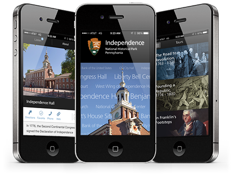 Independence National Historical Park Apps. NPS Photo.