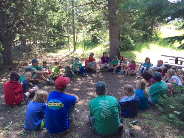 Grand Teton National Park, Design Session with Kids, July 2015 (A. Druin, Photo)
