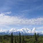 Image of Mount McKinley from the north