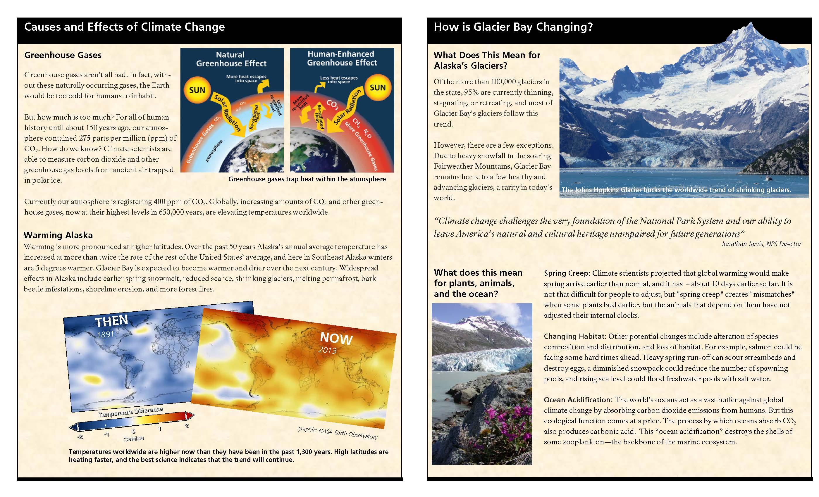 Climate Change Glacier Bay National Park Amp Preserve U S