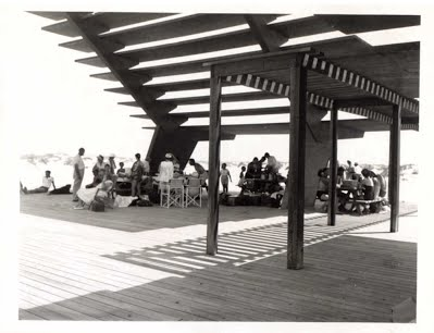 Coquina Beach Sunshade on July 4, 1957