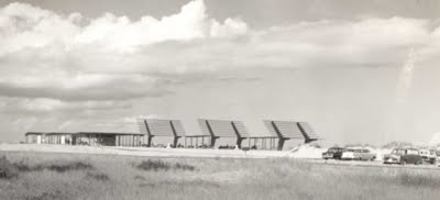 Coquina Beach Sunshade on July 26, 1957