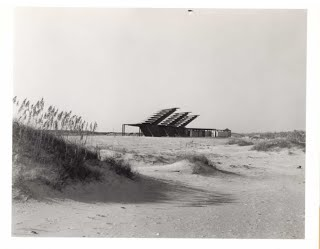 Coquina Beach Sunshade - Oct. 9, 1956