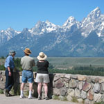 Visitors at Snake River Overlook