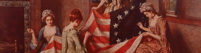 Henry Mosler's painting 'The Birth of the Flag'