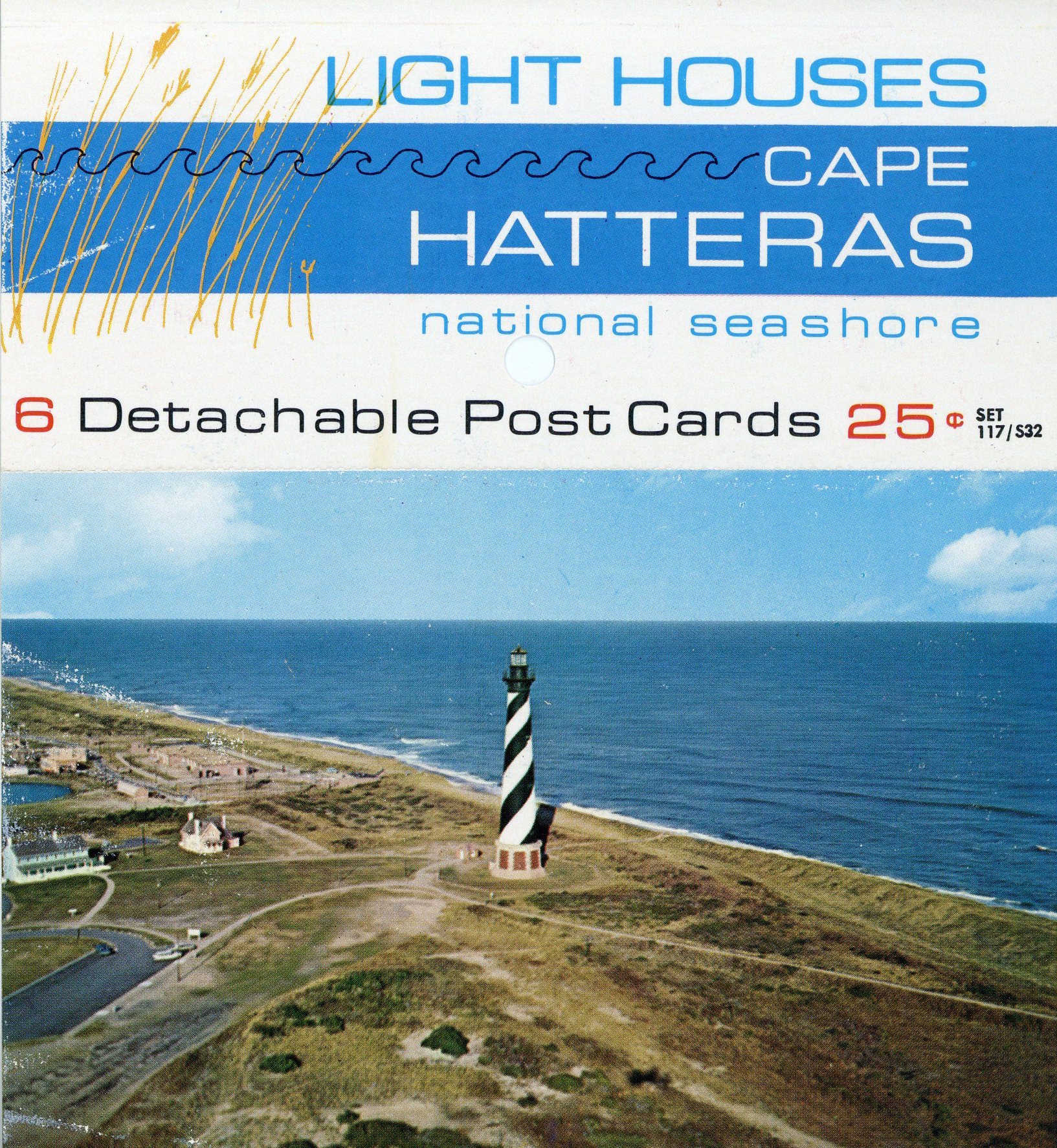 Cape Hatteras Light Station Post Card Book