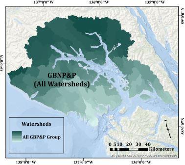 A Story Map Glance at Glacier Bays Hydroscape Glacier Bay