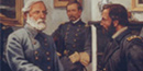 Grant & Lee shake hands at Appomattox