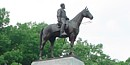 Statue of Lee on the Virginia Monument at Gettysburg NMP