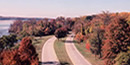 Aerial view of the Parkway