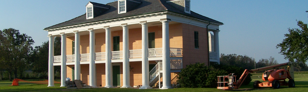 Manor House at Jean Lafitte National Historical Park and Preserve