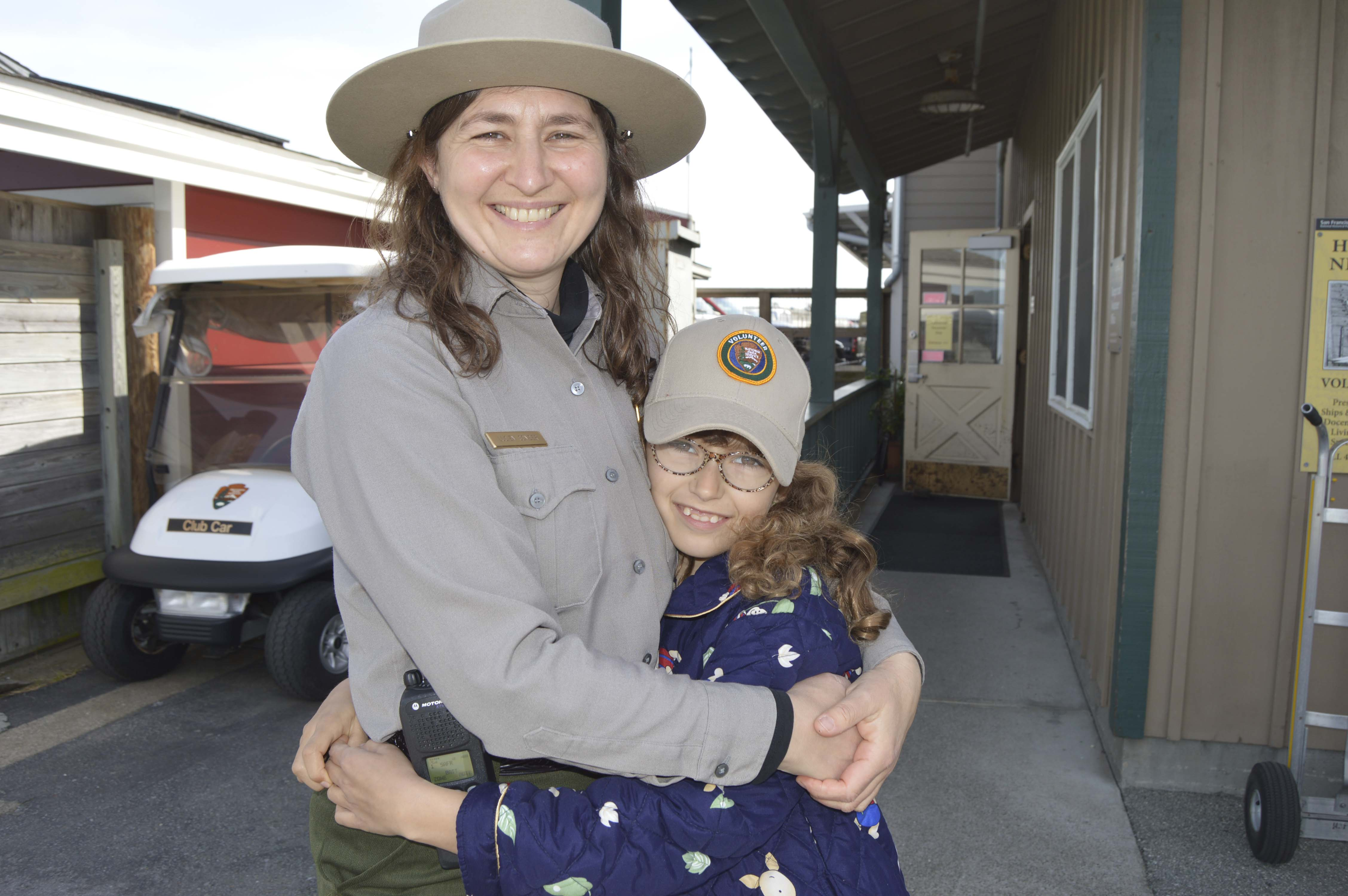 Park Ranger and her daughter