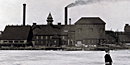 Historic photo: Calumet & Hecla Stamp Mill in Lake Linden
