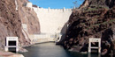 Down River view of Hoover Dam