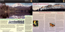 summer and winter newspapers side by side