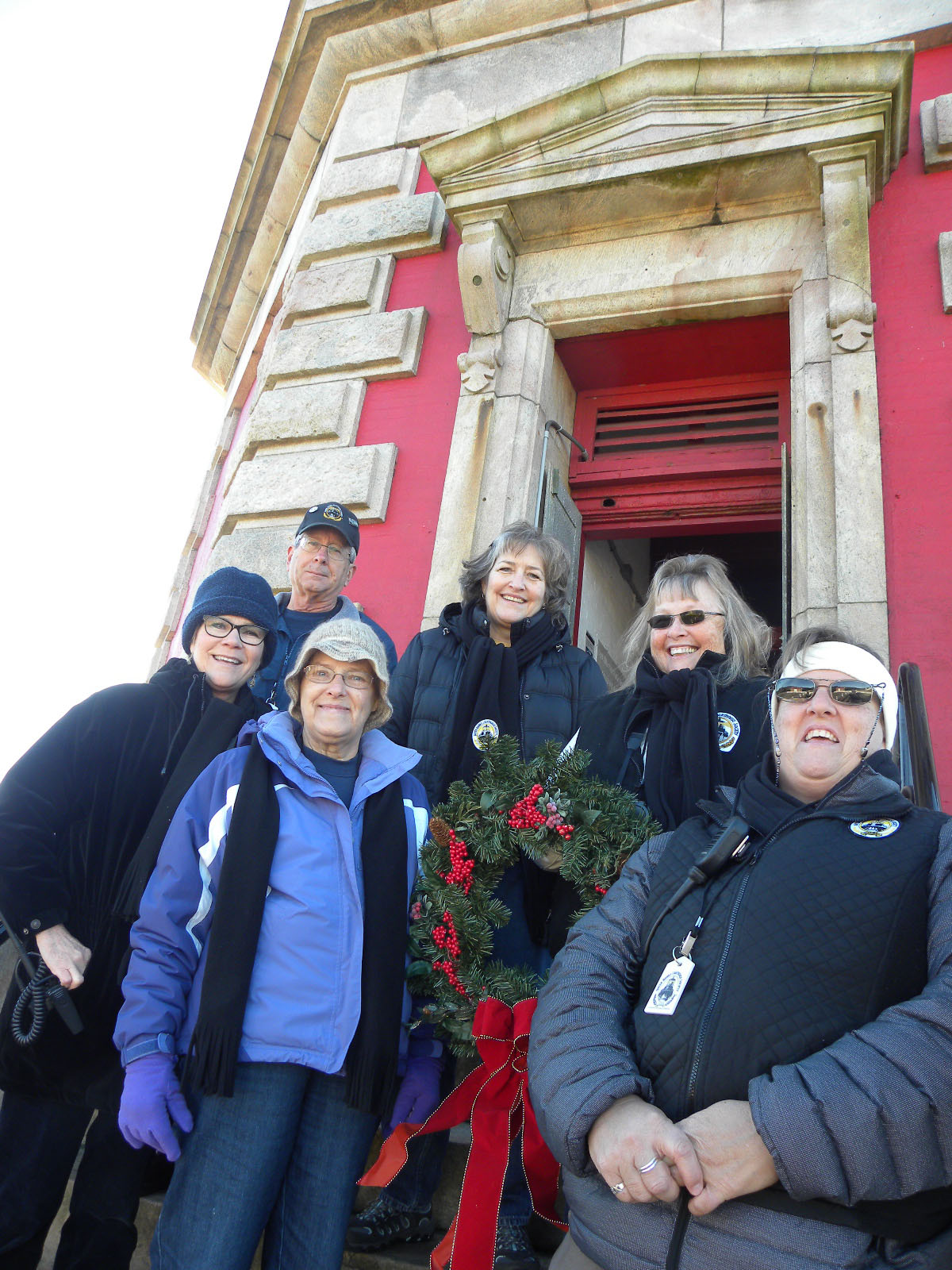 Outer Banks Lighthouse Society members