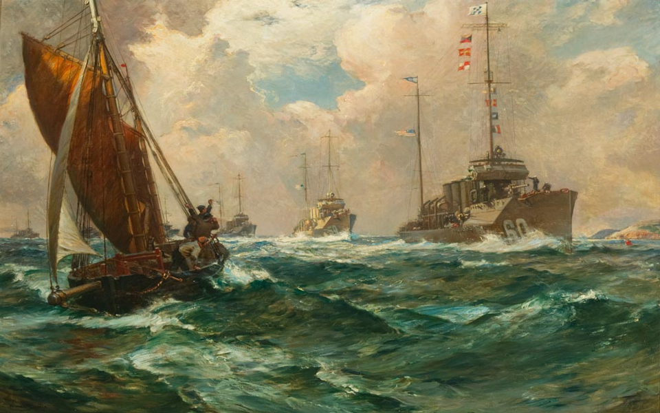 Return of the Mayflower by Bernard F. Gribble