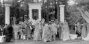 Dress rehearsal for the 1905 pageant,