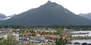 Photograph of downtown Sitka