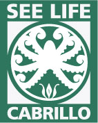 Image of the SeeLife logo showing a drawing of an octopus