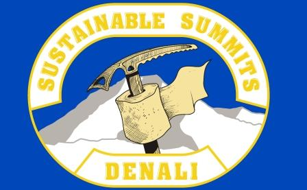 The 2017 Sustainable Summits-Denali Flag