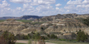 Theodore Roosevelt national Park contains one of hte few islands of designated wilderness in the Northern Great Plains.