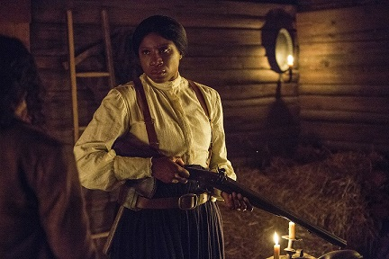 Aisha Hinds as Harriet Tubman