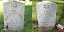 Confederate Headstones, Vicksburg National Cemetery