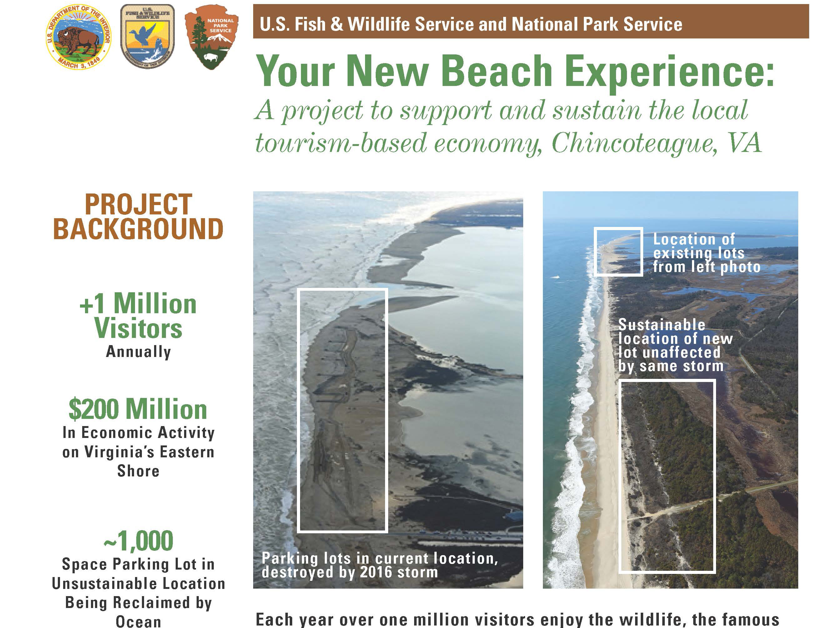 newsletter about future changes to the recreational beach in the Virginia District